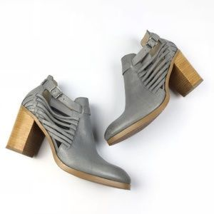 Anthropologie Latigo Jasmine ankle boot.